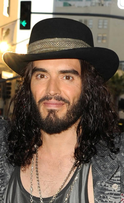 Russell Brand at the California premiere of