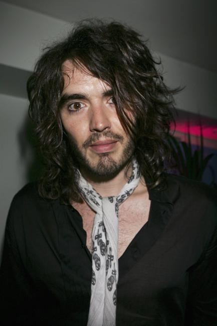 Russell Brand at the first night of a series of concerts and events in aid of Teenage Cancer Trust.