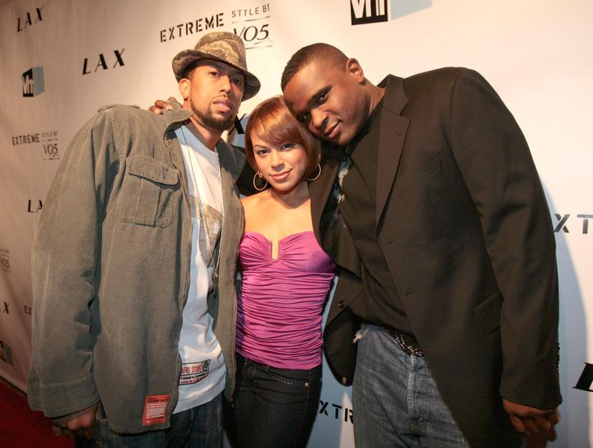 Affion Crockett, Toni Trucks and Darius McCreary at the crowning finale and celebration of VH1's