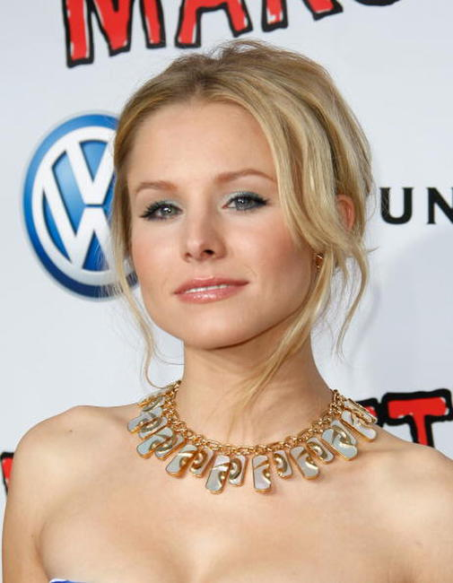 Actress Kristen Bell at the Hollywood premiere of