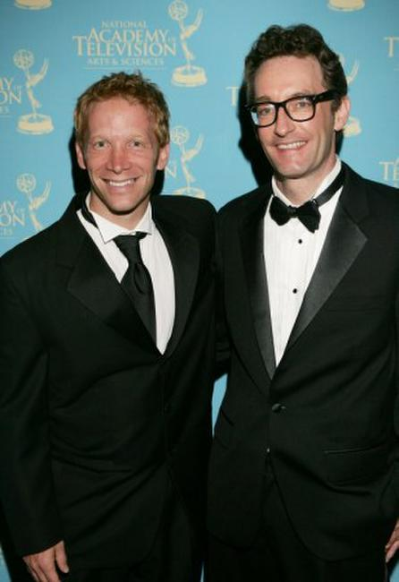 J.D. Roth and Tom Kenny at the 34th Annual Daytime Creative Arts & Entertainment Emmy Awards.