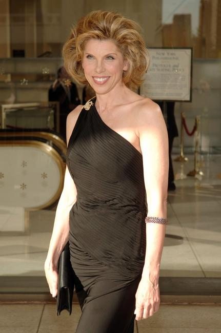 Christine Baranski at the Lincoln Center Film Society Gala Tribute to Jessica Lange.