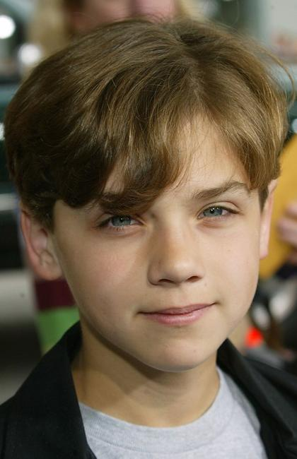 Hayden McFarland at the premiere of