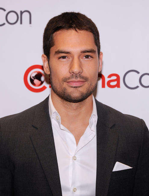 D.J. Cotrona at the opening night of CinemaCon 2012 in Las Vegas.