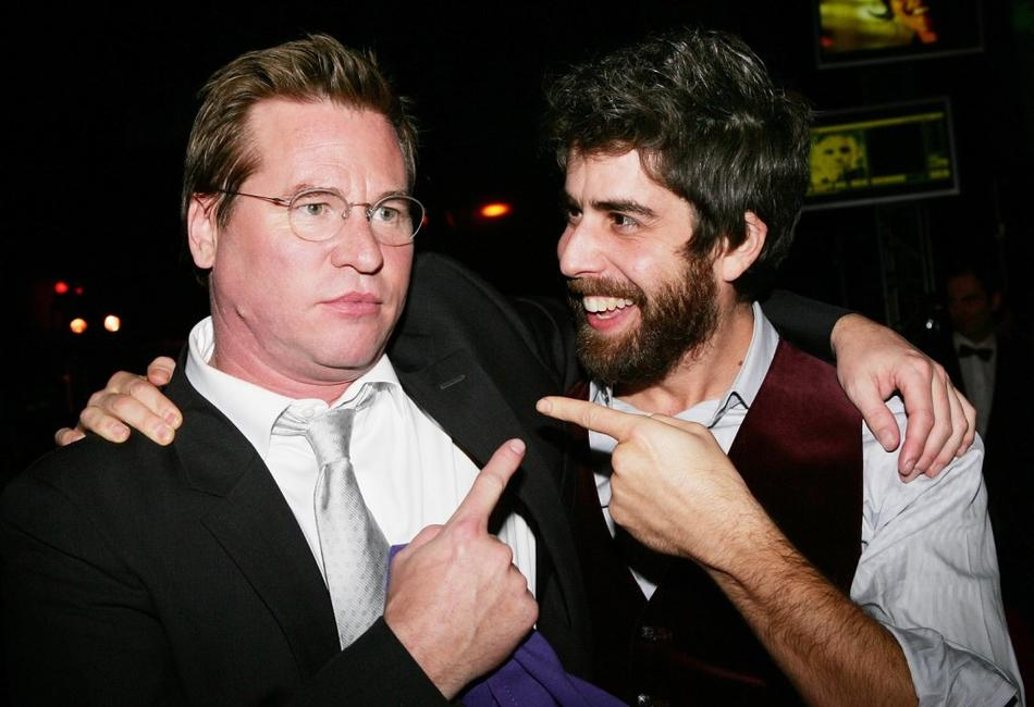 Val Kilmer and Adam Goldberg at the after party World Premiere of '