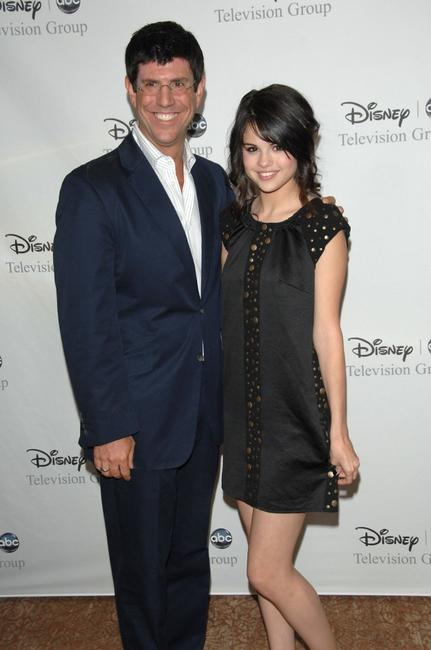 Rich Ross and Selena Gomez at the