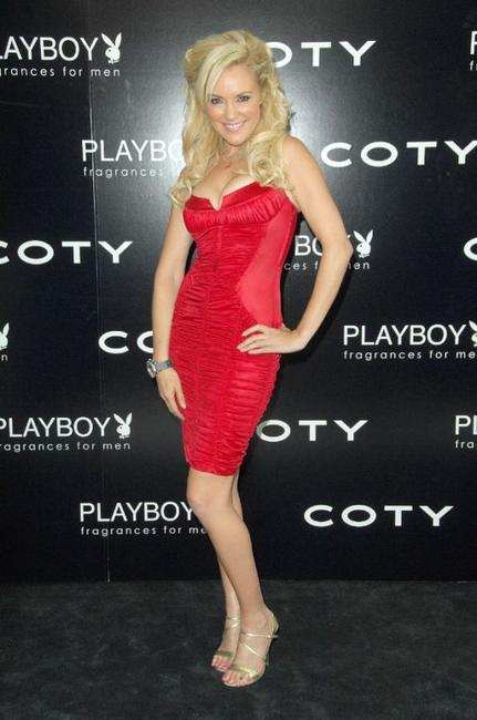 Bridget Marquardt at the Playboy Launches A New Fragrance For Men.