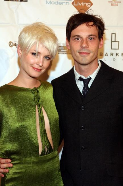 Whitney Able and Scoot McNairy at the opening night of the first Annual Downtown Film Festival screening of