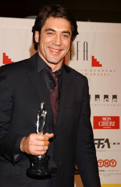 Javier Bardem at the 'European Film Awards 2004' in Barcelona, Spain.