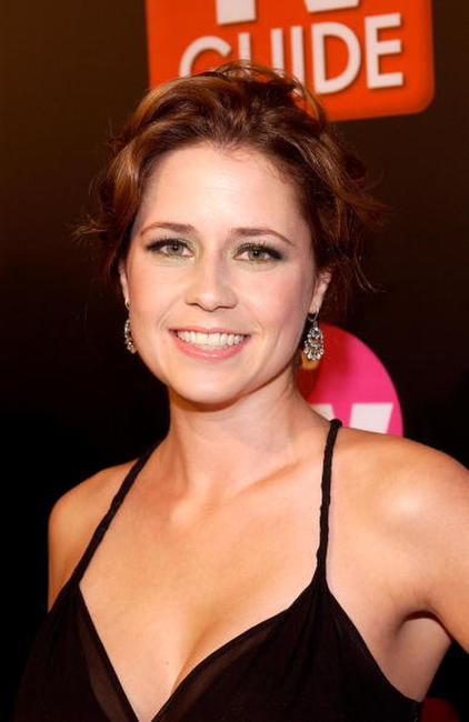 Jenna Fischer at the TV Guide & Inside TV 2005 Emmy after party in Hollywood, California.
