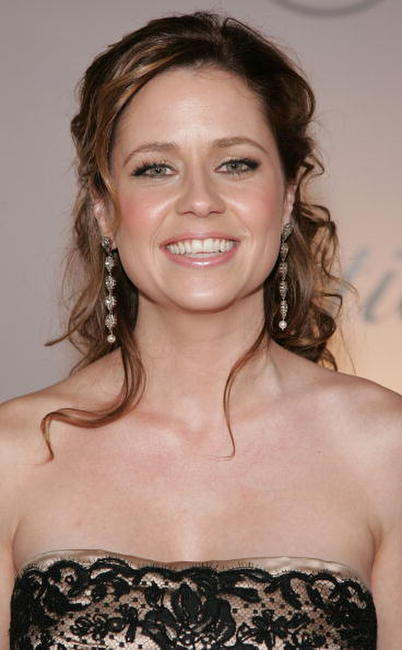 Jenna Fischer at the NBC/Universal Golden Globe After Party in Beverly Hills, California.