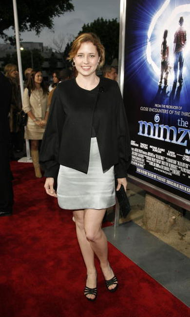 "Jenna Fischer at the premiere of ""The Last Mimzy"" in Los Angeles."