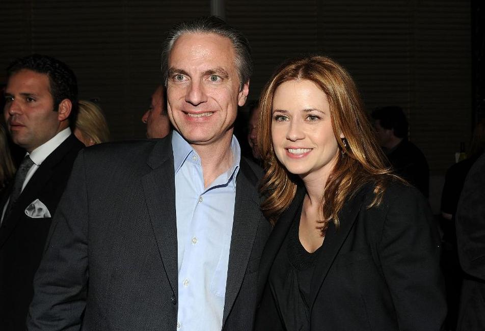 Gordon Prend and Jenna Fischer at the after party of the New York premiere of