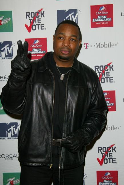 Chuck D at the 2003 Rock the Vote Awards.