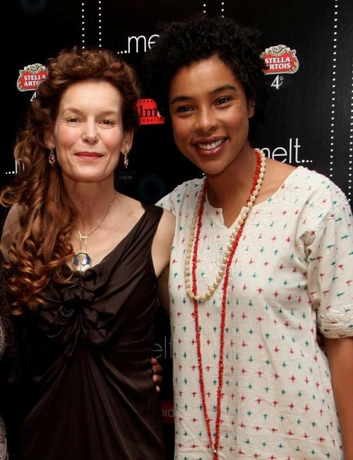 Alice Krige and Sophie Okenedo at the UK premiere of