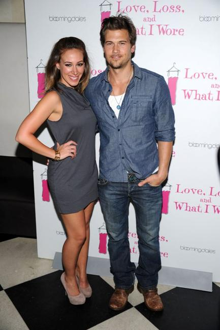 Haylie Duff and Nick Zano at the new cast member celebration of