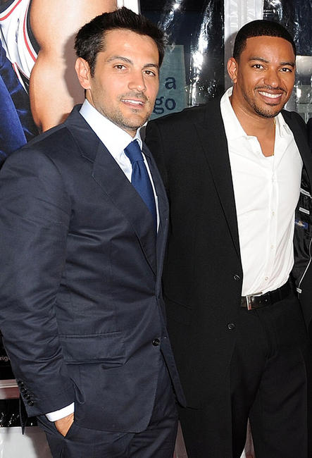 Michael Landes and Laz Alonso at the New York premiere of