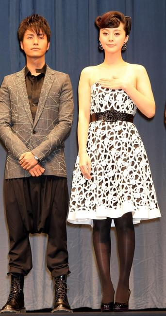 Chen Kun and Fan Bingbing at the 20th Tokyo International Film Festival (TIFF).