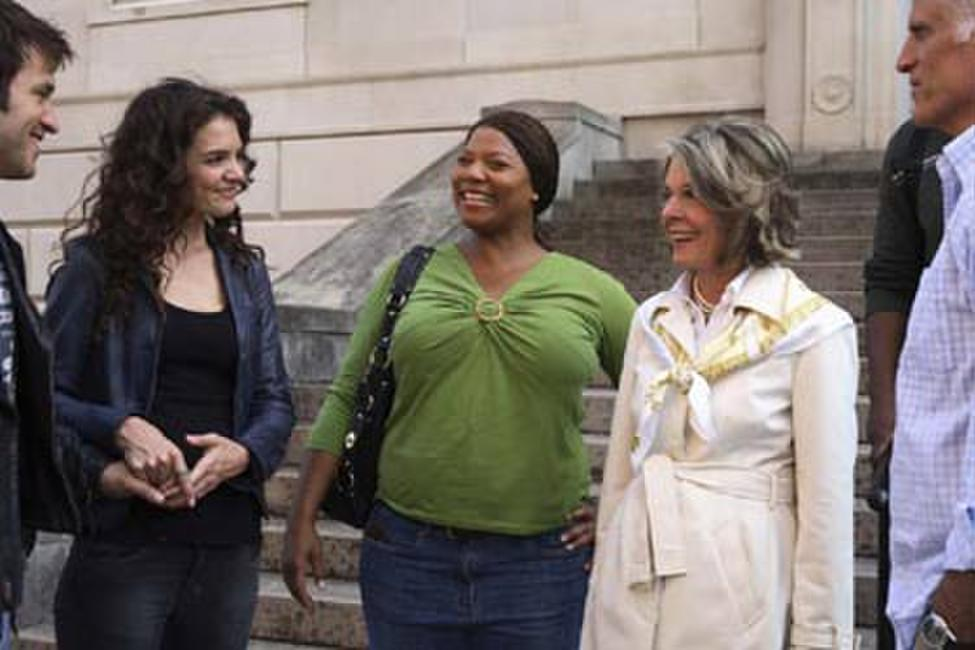 Katie Holmes, Queen Latifah and Diane Keaton in