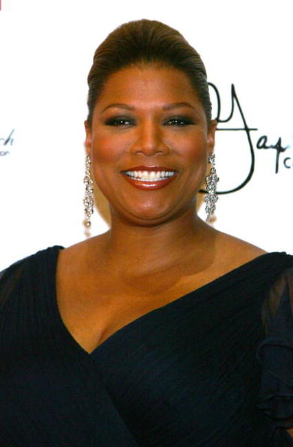 Queen Latifah at the Behind the Bench's Annual Touching a Life Gala in Las Vegas.
