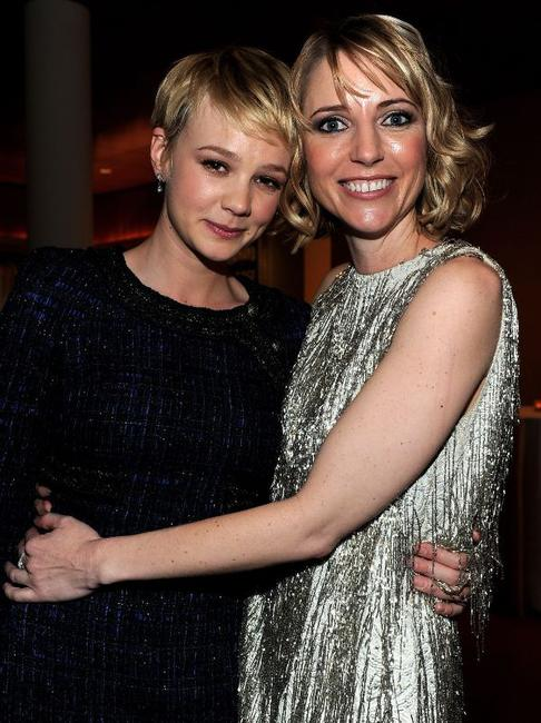 Carey Mulligan and director Shana Feste at the after party of the California premiere of