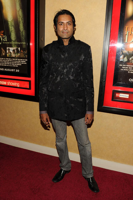Samrat Chakrabarti at the New York premiere of