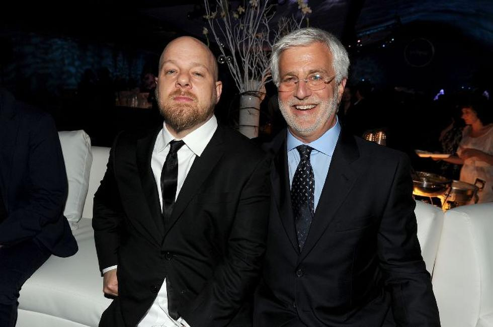 David Slade and Rob Friedman at the after party of the premiere of