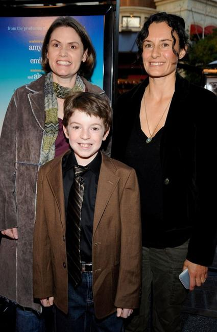 Megan Holley, director Christine Jeffs and Jason Spevack at the screening of