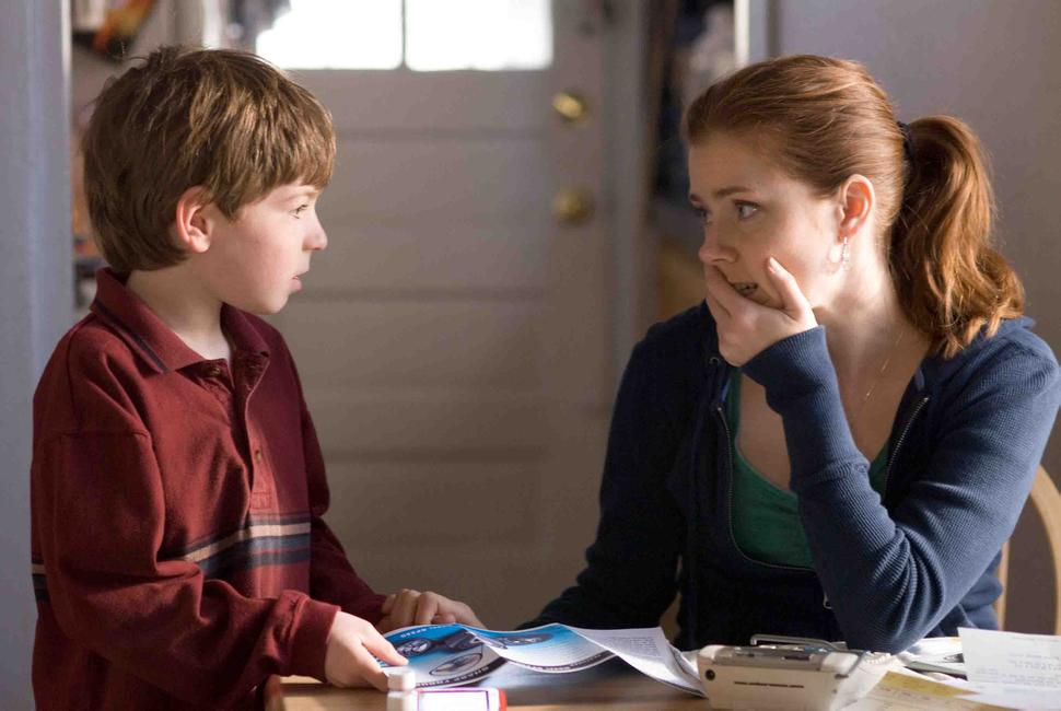 Amy Adams and Jason Spevack in