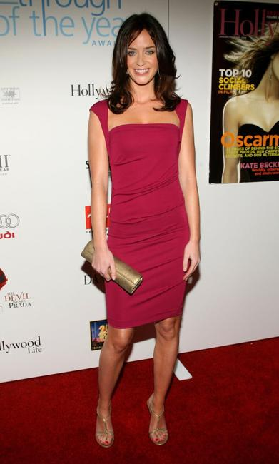Emily Blunt at the Hollywood Life magazine's 6th Annual Breakthrough Awards.