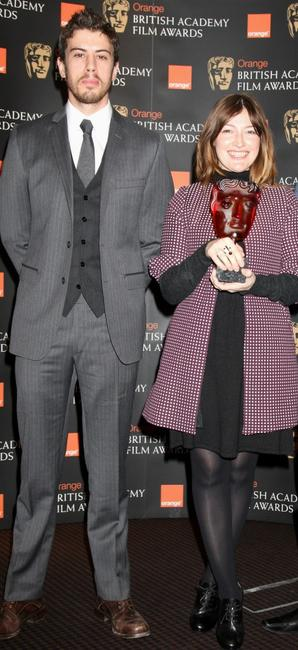 Toby Kebbell and Kelly Macdonald at the BAFTA Orange Rising Star Award nomination announcement.