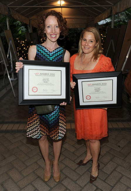 Darlene Hunt and producer Jenny Bicks at the Eleventh Annual AFI Awards presentation in California.
