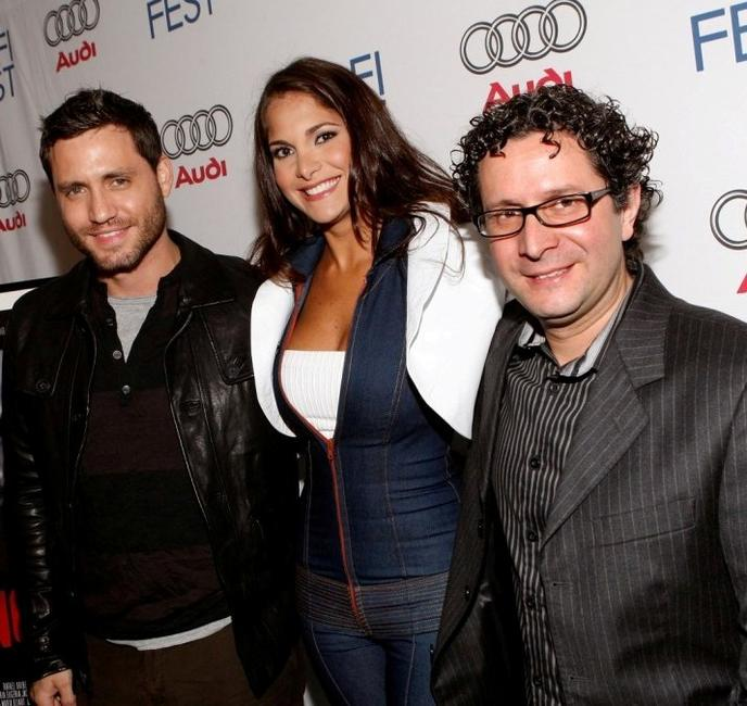 Edgar Ramirez, Jessika Grau and Alberto Arvelo at the AFI Fest 2007.