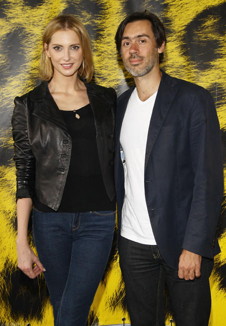 Frederique Bel and Emmanuel Mouret at the photocall of