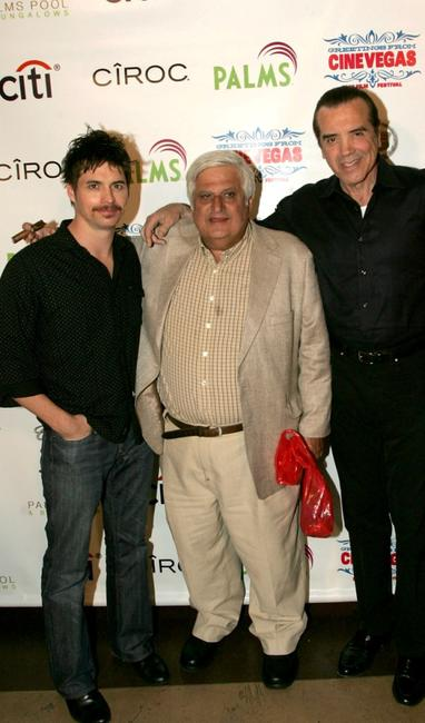 Chad McKnight, Michael Lerner and Chazz Palminteri at the 2007 CineVegas