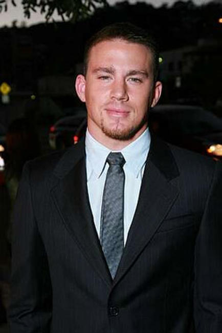 Actor Channing Tatum at the L.A. premiere of