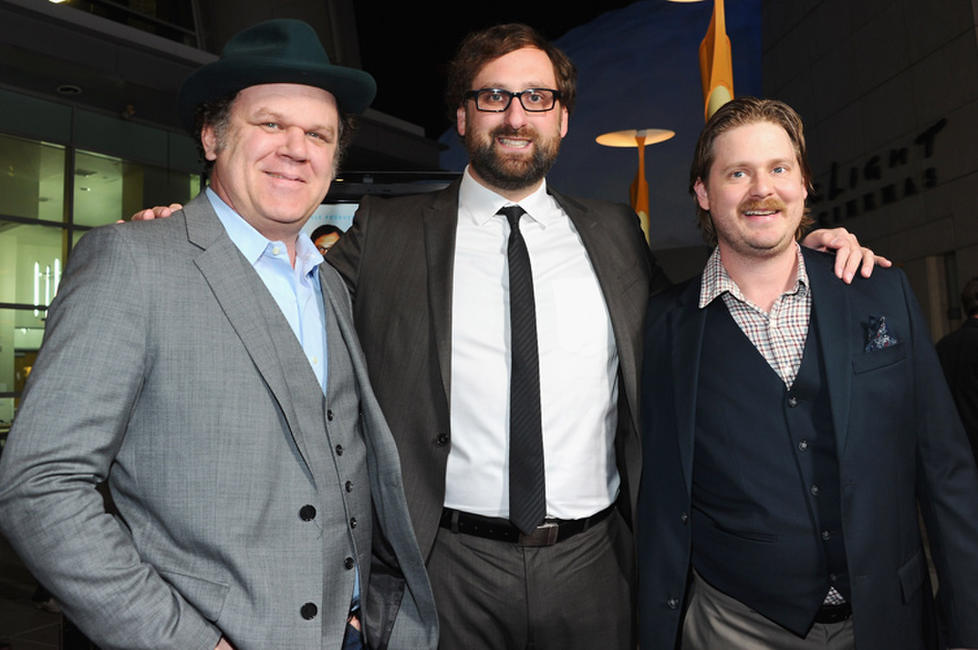 John C. Reilly, Eric Wareheim and Tim Heidecker at the Los Angeles premiere of