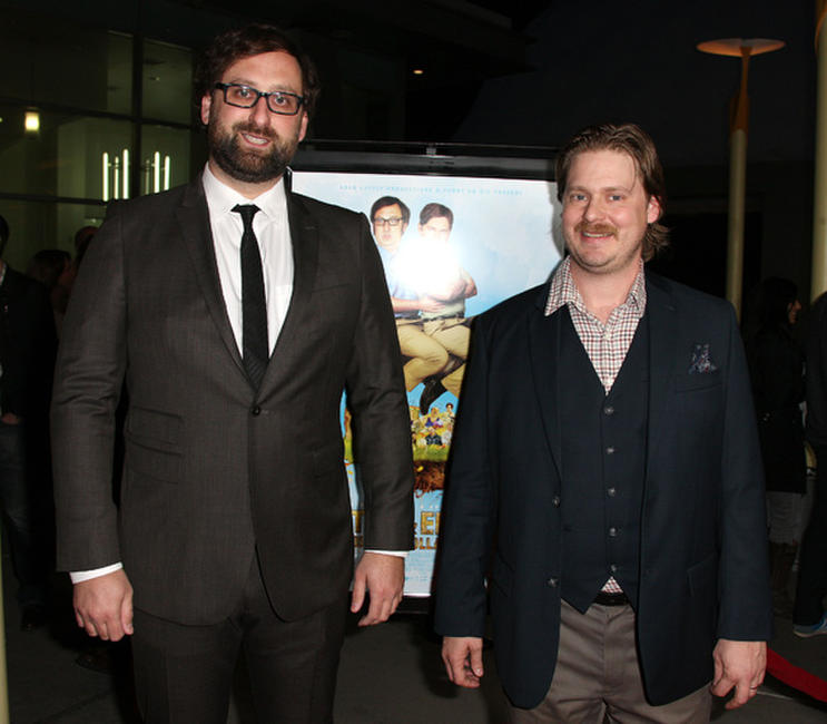 Eric Wareheim and Tim Heidecker at the Los Angeles premiere of