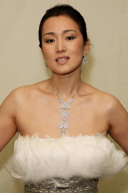 Gong Li at the Britain's Best 2008 Awards.