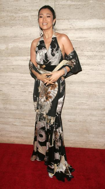 Gong Li at the screening of
