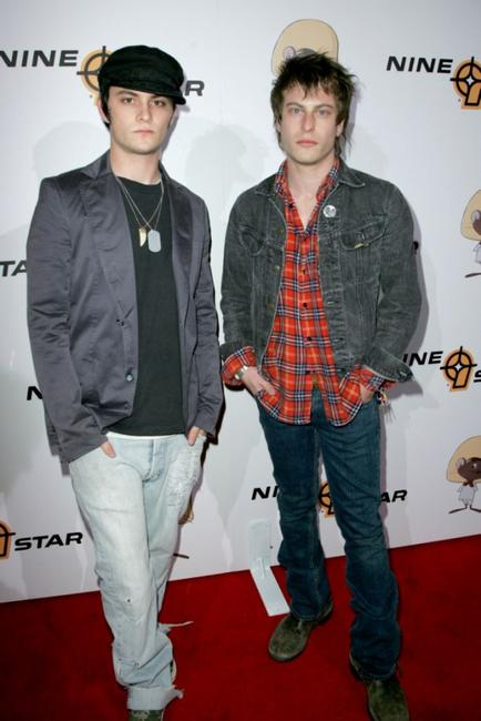 Shilo Fernandez and Noah Segan at the Preview Party of the new Speedy Collection.