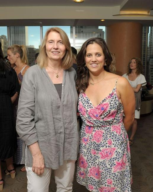 Susan Froemeke and Heidi Ewing at the screening of