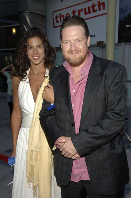 Kelsey Walker and Donal Logue at the world premiere of