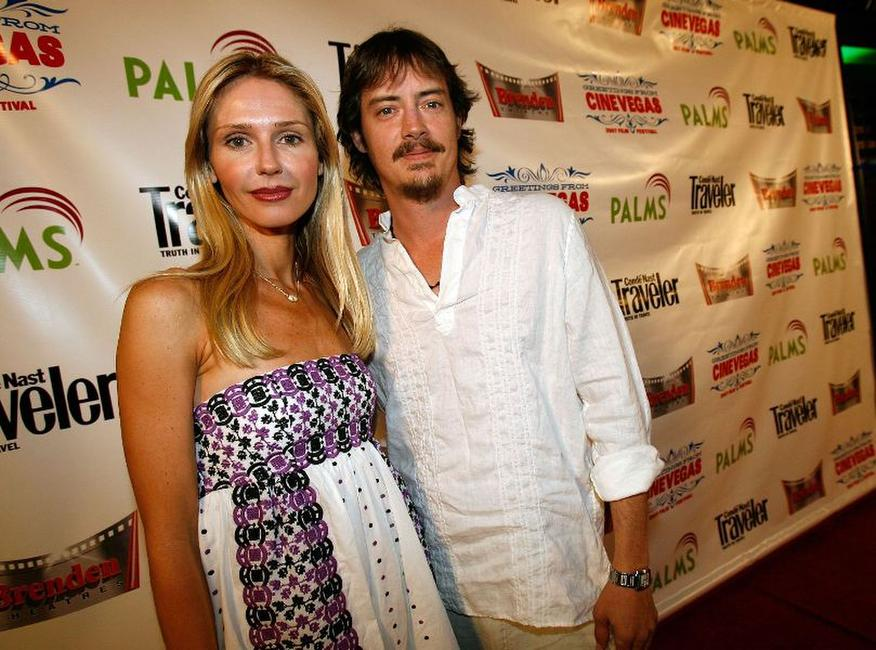 Vanessa Branch and Jason London at the 2007 CineVegas Film Festival.