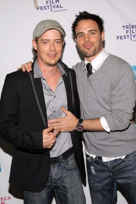 Jason London and Al Santos at the premiere of