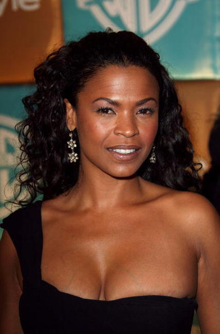 Nia Long at the In Style Magazine and Warner Bros. Studios Golden Globe After Party.