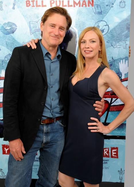Bill Pullman and Traci Lords at the 2008 CineVegas Film Festival.
