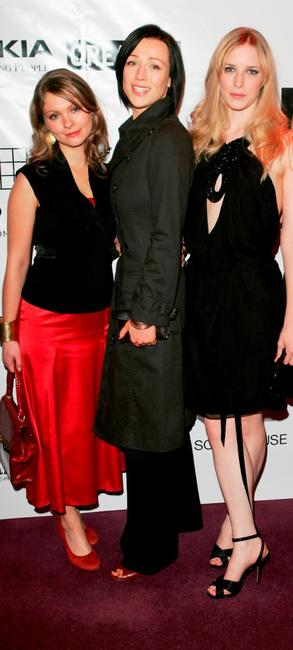 MyAnna Buring, Alex Reid and Shauna MacDonald at the British Independent Film Awards.