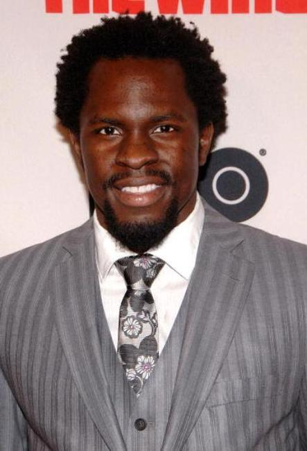 Gbenga Akinnagbe at the premiere of