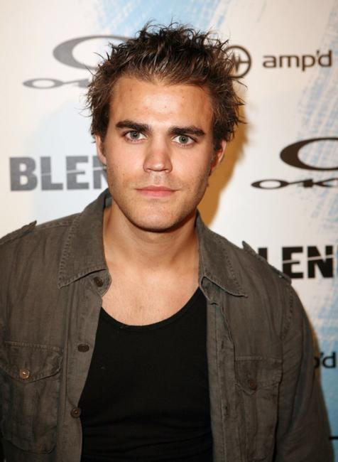 Paul Wesley at the Blender and AMP'd Mobile's X Games 12 Kick-Off Party.
